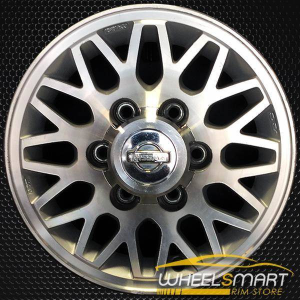 "15"" Nissan Pathfinder OEM wheel 1997-1998 Machined alloy stock rim ALY62343U10"
