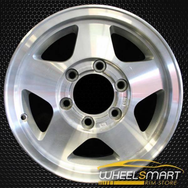 "15"" Nissan Pickup OEM wheel 1996-1997 Machined alloy stock rim ALY62358U10"