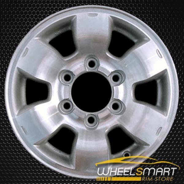 "15"" Nissan Pickup OEM wheel 1998-2000 Machined alloy stock rim ALY62363U10"