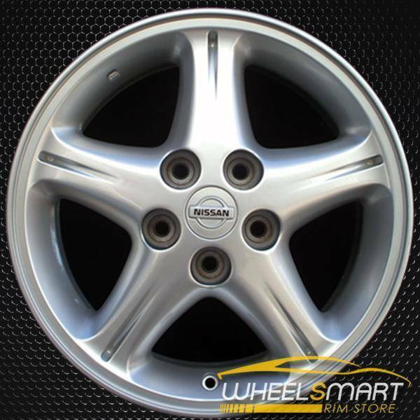 "16"" Nissan Maxima OEM wheel 1999 Silver alloy stock rim ALY62375U10"