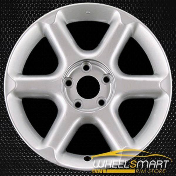 "17"" Nissan Maxima OEM wheel 2000-2001 Hypersilver alloy stock rim ALY62379U78"