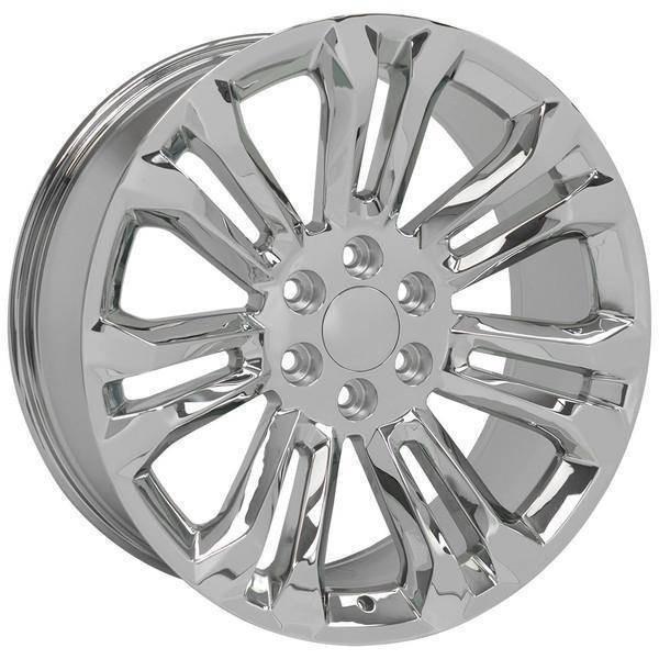 "22"" Chevy Avalanche replica wheel 2002-2013 Chrome rims 9507903"