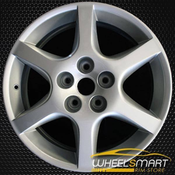 "17"" Nissan Altima OEM wheel 2002-2004 Silver alloy stock rim ALY62398U20"