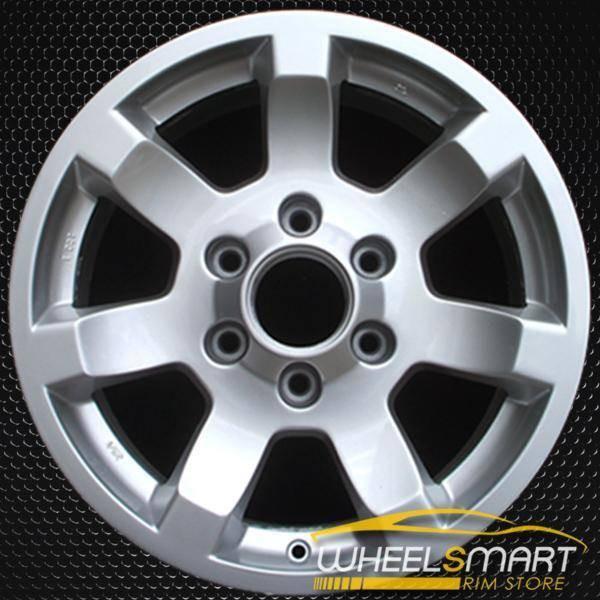 """17"""" Nissan Armada OEM wheel 2004-2007 Silver alloy stock rim ALY62435U20"""
