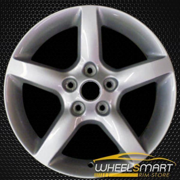 "17"" Nissan Altima OEM wheel 2005-2006 Silver alloy stock rim ALY62444U20"