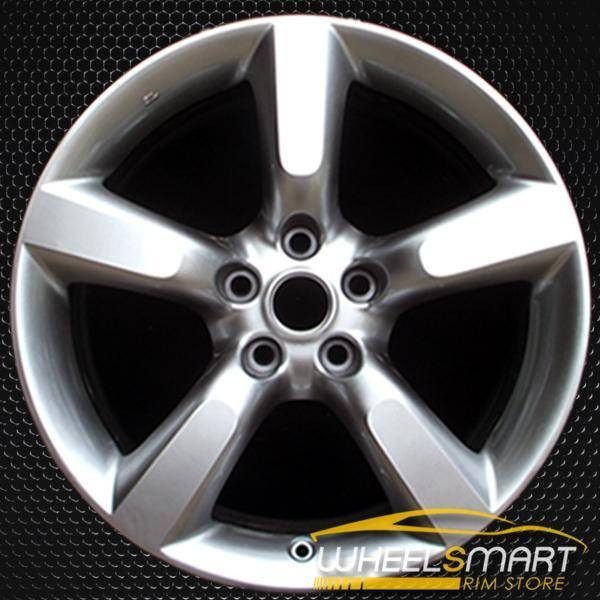 "18"" Nissan 350Z OEM wheel 2005-2009 Hypersilver alloy stock rim ALY62455U77"