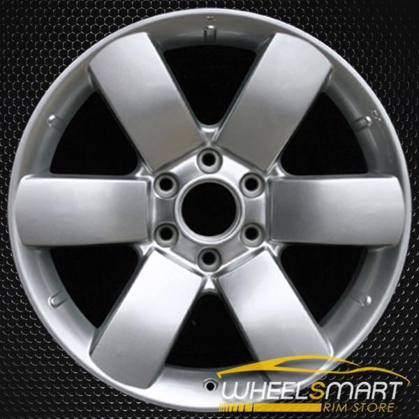 """20"""" Nissan Armada OEM wheel 2008-2010 Silver alloy stock rim ALY62494U20"""