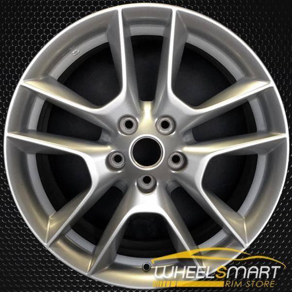 "18"" Nissan Maxima OEM wheel 2009-2014 Silver alloy stock rim ALY62511U20"