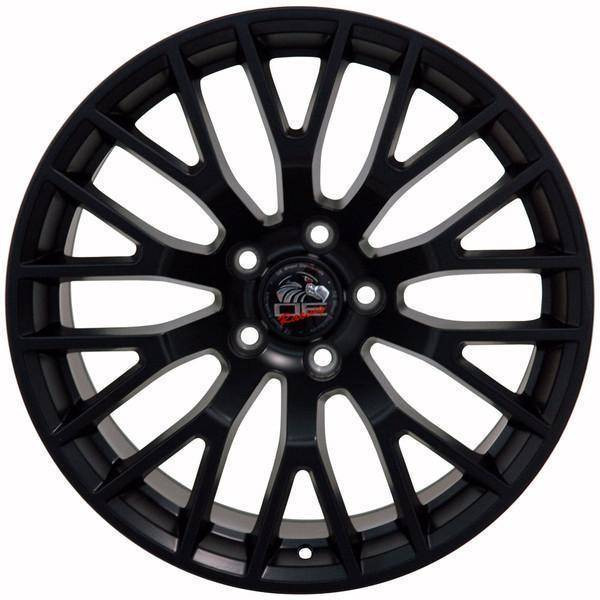 "18"" Ford Mustang replica wheel 2005-2016 Matte Black rims 9490927"