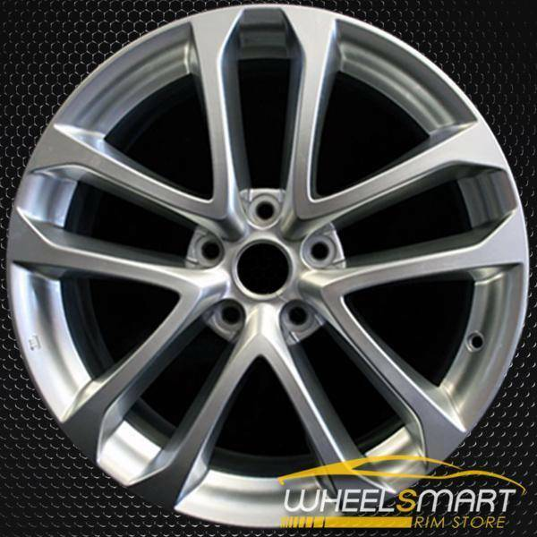 "18"" Nissan Altima OEM wheel 2009-2013 Hypersilver alloy stock rim ALY62521U78"