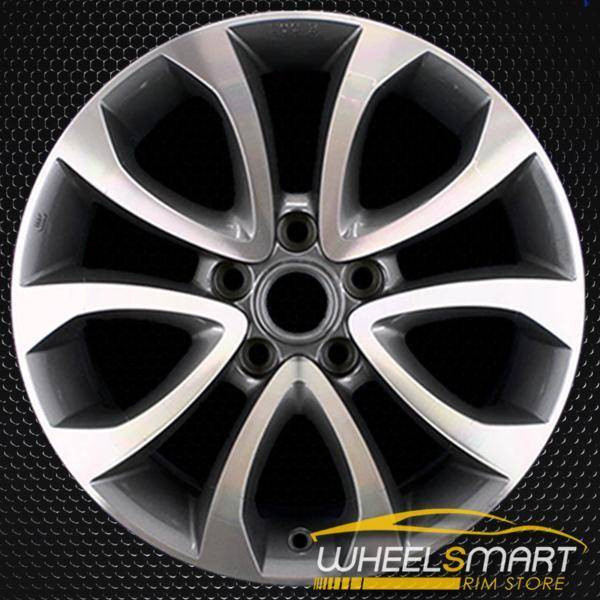 "17"" Nissan Juke OEM wheel 2011-2013 Machined alloy stock rim ALY62563U30"