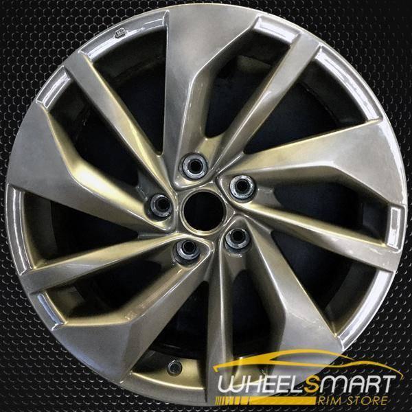 "18"" Nissan Rogue OEM wheel 2014-2016 Silver alloy stock rim ALY62619U20"