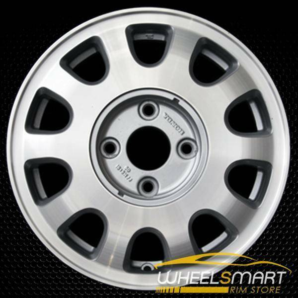 "15"" Honda Accord OEM wheel 1993 Machined alloy stock rim ALY63740U10"
