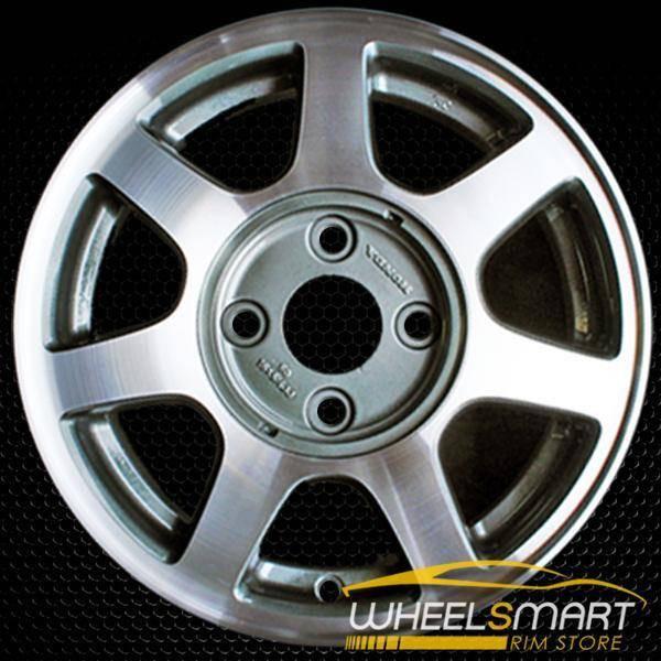 "15"" Honda Accord OEM wheel 1994-1995 Machined alloy stock rim ALY63742U10"