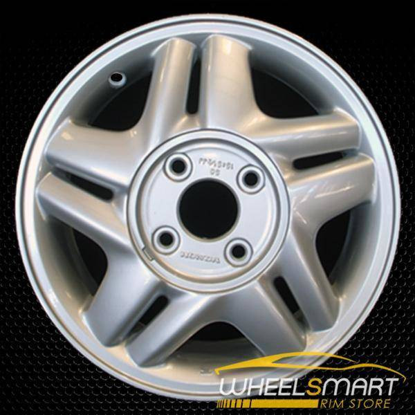 "15"" Honda Accord OEM wheel 1996-1997 Silver alloy stock rim ALY63752U10"