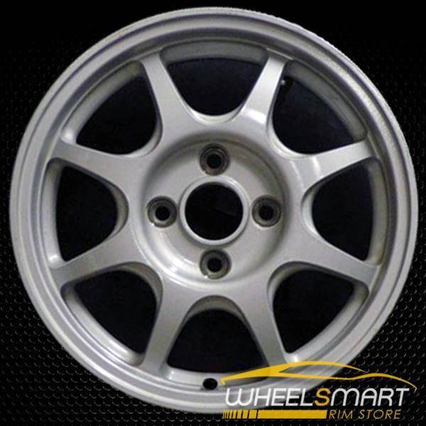 "14"" Honda Civic OEM wheel 1996-2000 Silver alloy stock rim ALY63756U10"