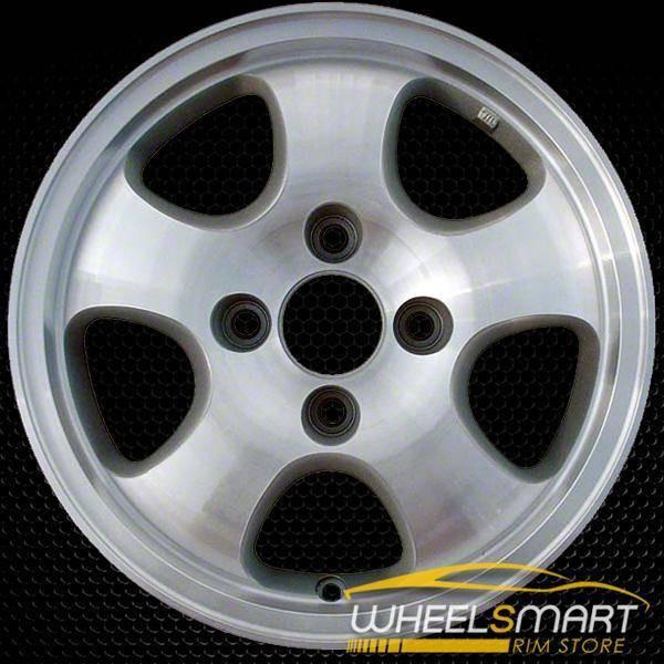 "15"" Honda Accord OEM wheel 1997 Machined alloy stock rim ALY63760U10"