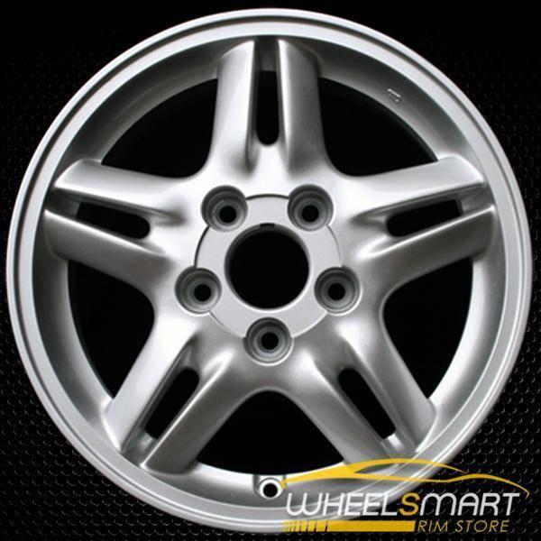 """15"""" Honda CRV OEM wheel 1997-2001 Silver alloy stock rim ALY63768U10"""