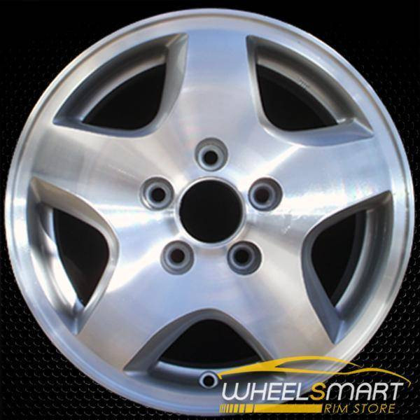 "15"" Honda Accord OEM wheel 1998-2000 Machined alloy stock rim ALY63774U10"