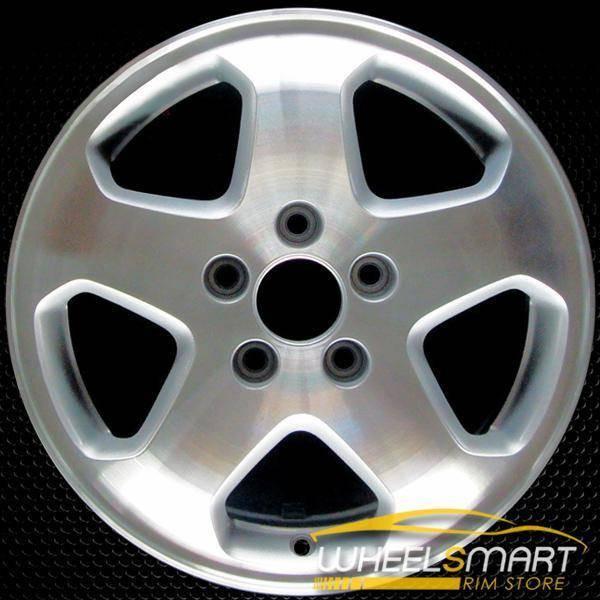 "16"" Honda Accord OEM wheel 1998-2000 Machined alloy stock rim ALY63777U10"