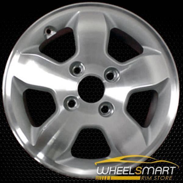 "15"" Honda Accord OEM wheel 2001-2002 Machined alloy stock rim ALY63824U10"