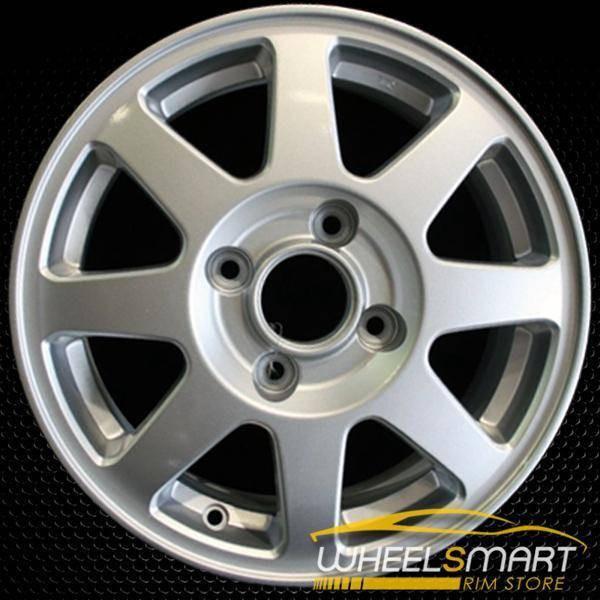 "15"" Honda Accord OEM wheel 2002 Silver alloy stock rim ALY63840U20"
