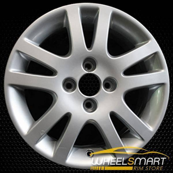 "15"" Honda Civic OEM wheel 2001-2003 Silver alloy stock rim ALY63846U20"