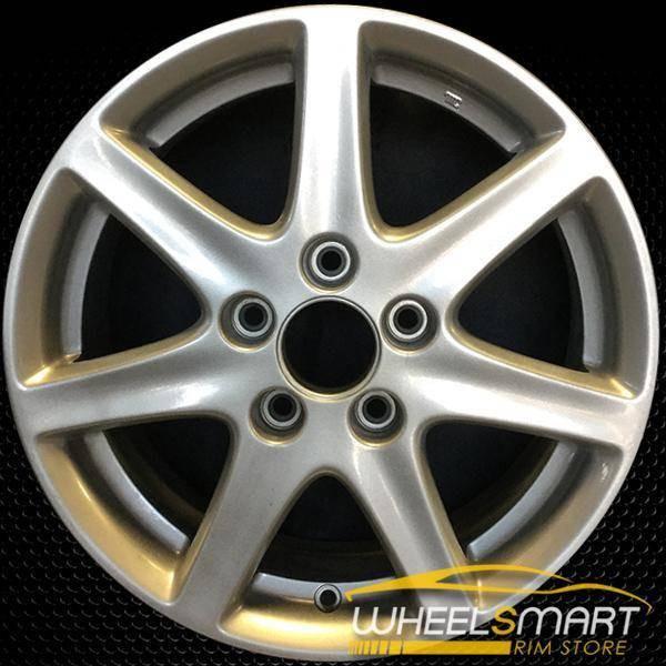 "16"" Honda Accord OEM wheel 2003-2005 Silver alloy stock rim ALY63858U20"