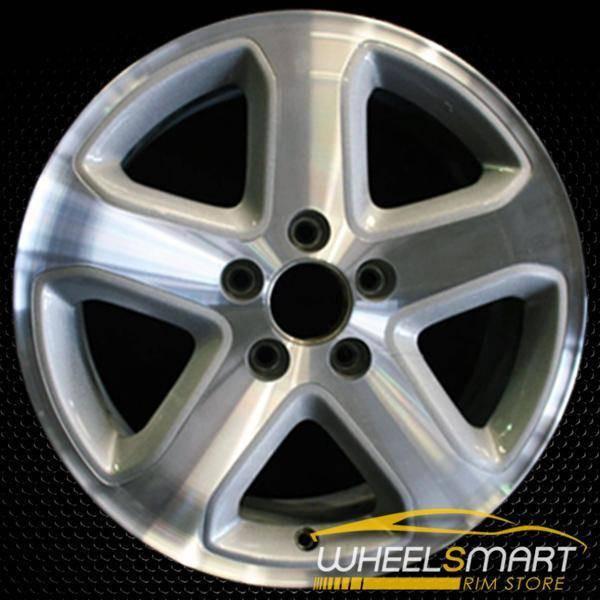 "17"" Honda Accord OEM wheel 2006-2007 Machined alloy stock rim ALY63908U10"