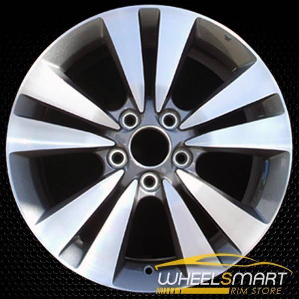 "17"" Honda Accord OEM wheel 2008-2012 Machined alloy stock rim ALY63938U10"