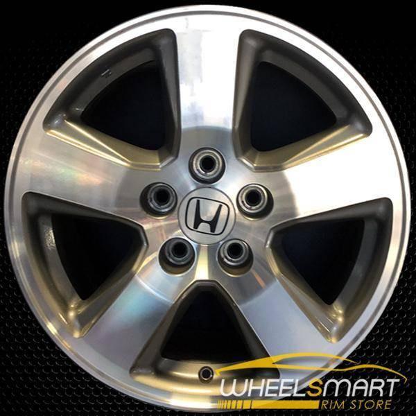 "17"" Honda Pilot OEM wheel 2009-2011 Machined alloy stock rim ALY63992U35"