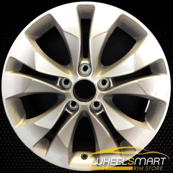 """17"""" Honda CRV OEM wheel 2012-2014 Silver alloy stock rim ALY64040U20"""
