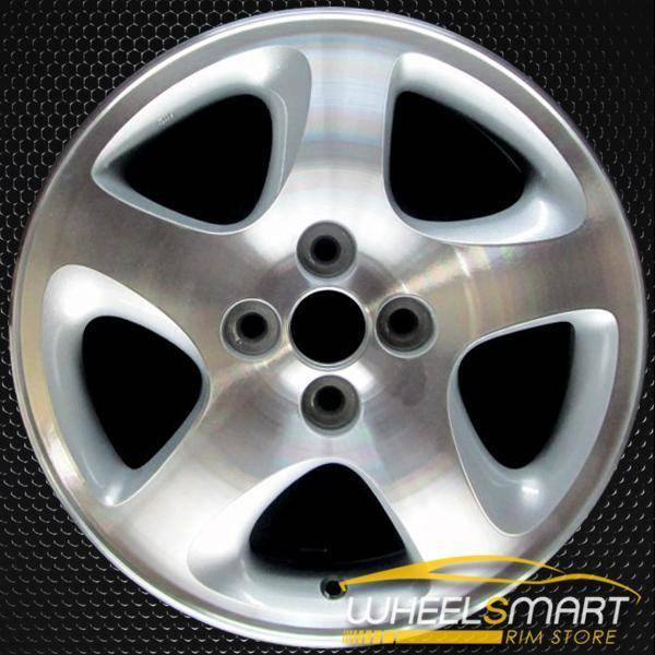 """15"""" Mazda Protege OEM wheel 1999-2003 Silver alloy stock rim ALY64818U10"""