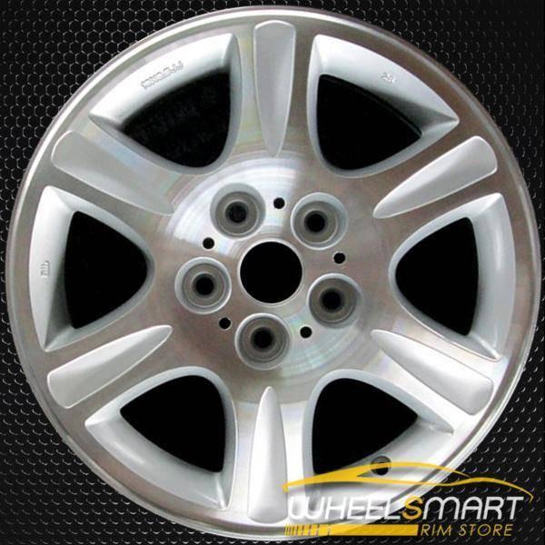 """16"""" Mazda 626 OEM wheel 2000-2002 Silver alloy stock rim ALY64821U10"""