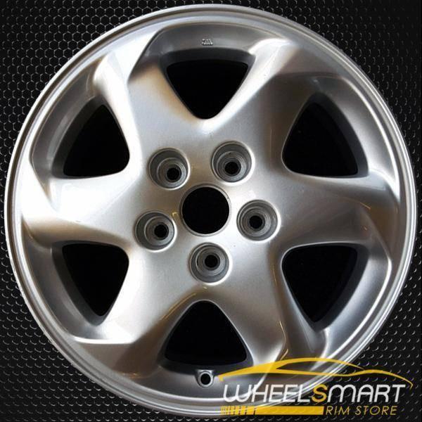 """16"""" Mazda MPV OEM wheel 2000-2001 Silver alloy stock rim ALY64826U10"""