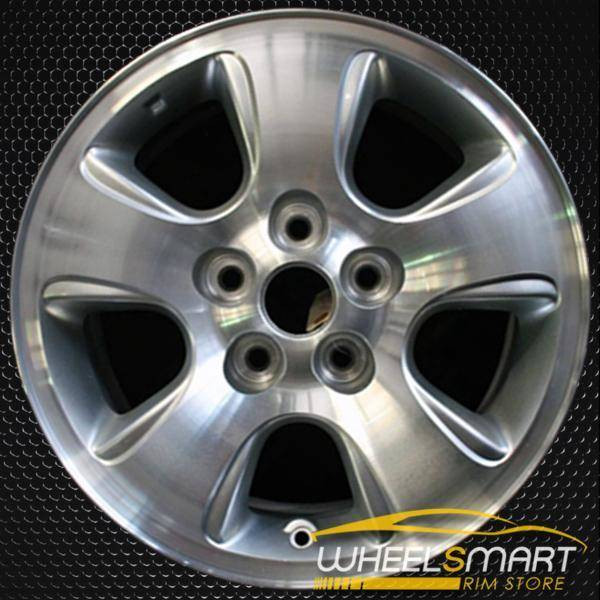 "16"" Mazda Tribute OEM wheel 2001-2004 Machined alloy stock rim ALY64837U10"