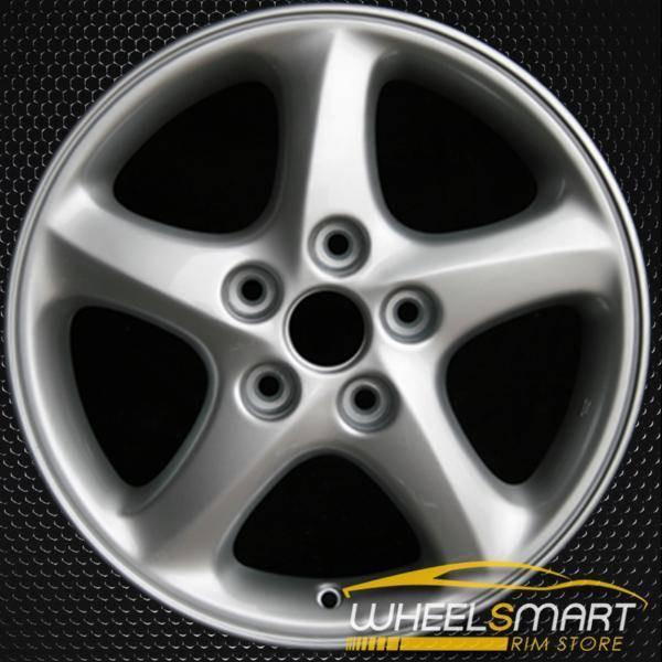 """16"""" Mazda Protege OEM wheel 2001 Silver alloy stock rim ALY64840U20"""