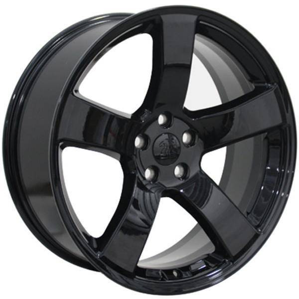 "20"" Dodge Challenger replica wheel 2009-2018 Black rims 9472108"