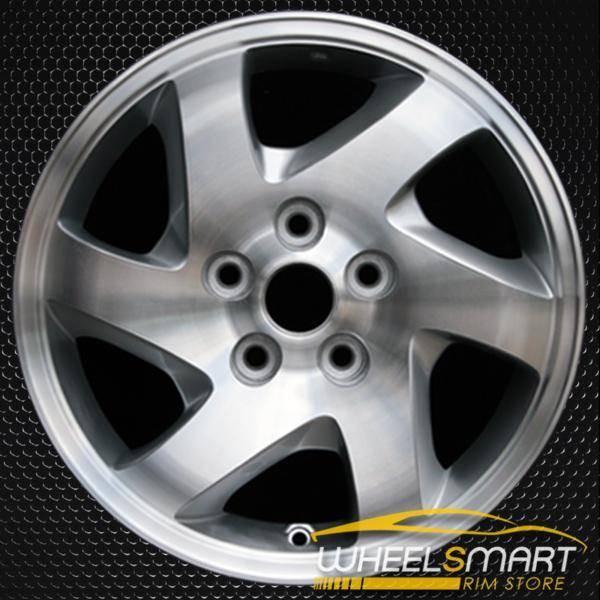"16"" Mazda Tribute OEM wheel 2001-2004 Machined alloy stock rim ALY64845U20"