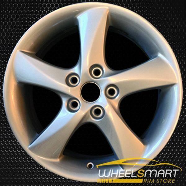 """17"""" Mazda 6 OEM wheel 2003-2004 Silver alloy stock rim ALY64857U20"""