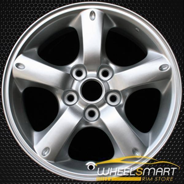 """16"""" Mazda Tribute OEM wheel 2005-2009 Silver alloy stock rim ALY64879U20"""