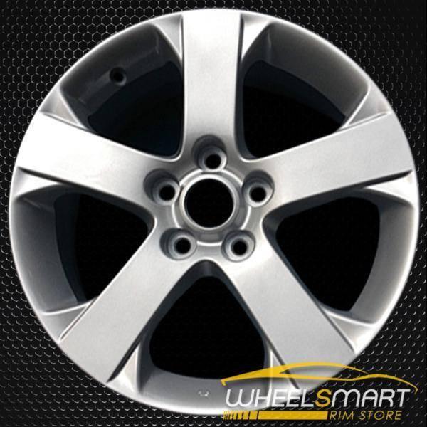 """17"""" Mazda 5 OEM wheel 2006-2007 Silver alloy stock rim ALY64881U20"""