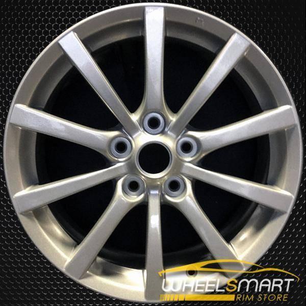 """17"""" Mazda MX5 Miata OEM wheel 2006-2008 Silver alloy stock rim ALY64887U20"""