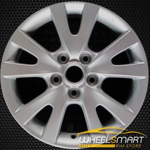"""16"""" Mazda 3 OEM wheel 2007-2009 Silver alloy stock rim ALY64894U20"""