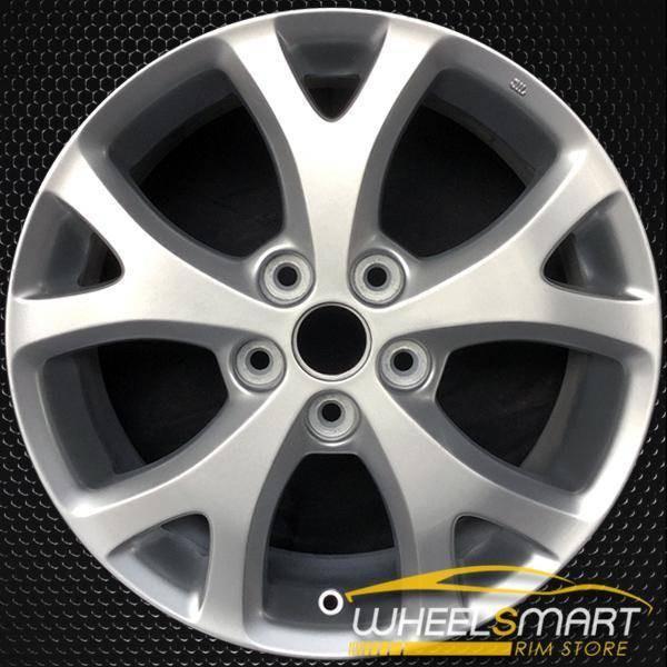 """17"""" Mazda 3 OEM wheel 2007-2009 Silver alloy stock rim ALY64895U20"""