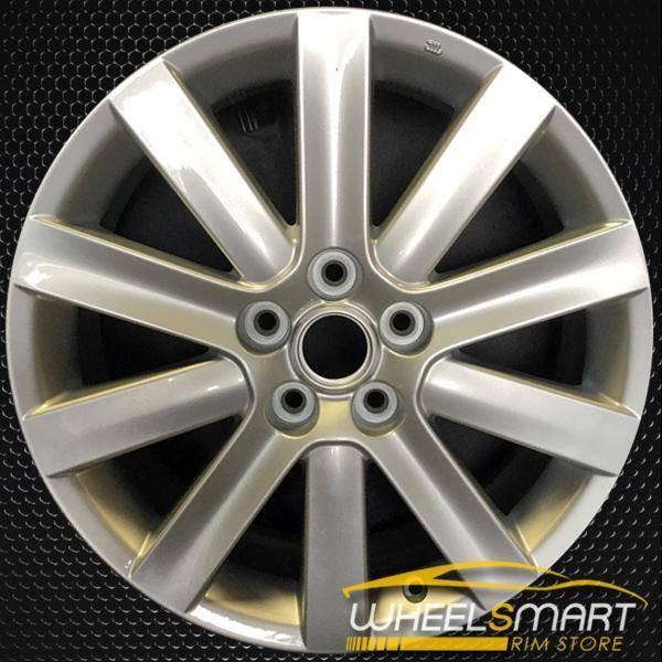 """18"""" Mazda 3 OEM wheel 2007-2009 Silver alloy stock rim ALY64896U20"""
