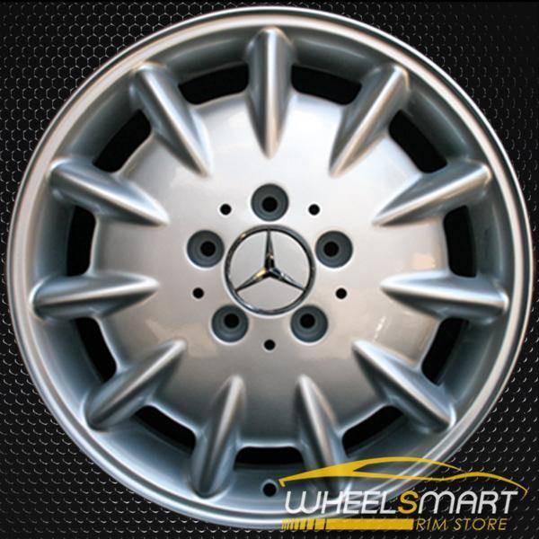 "16"" Mercedes E320 OEM wheel 2000-2003 Silver alloy stock rim ALY65238U10"