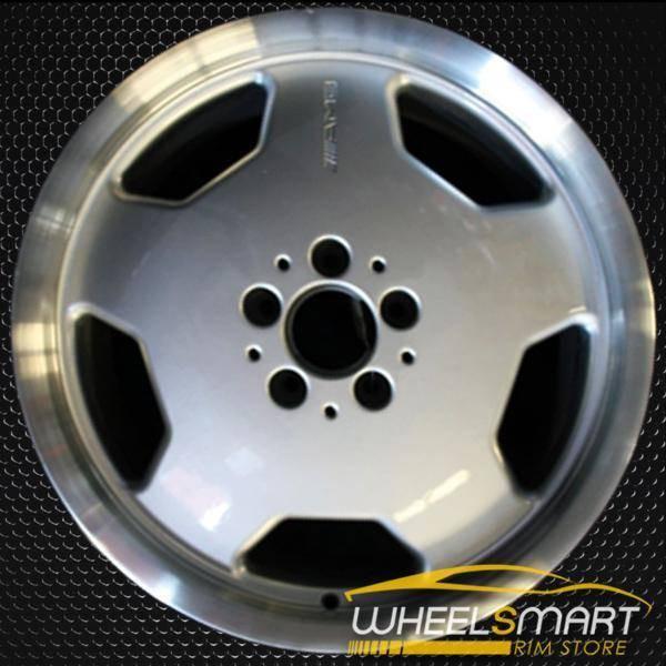 "18"" Mercedes E55 OEM wheel 1999-2002 Silver alloy stock rim ALY65240U10"
