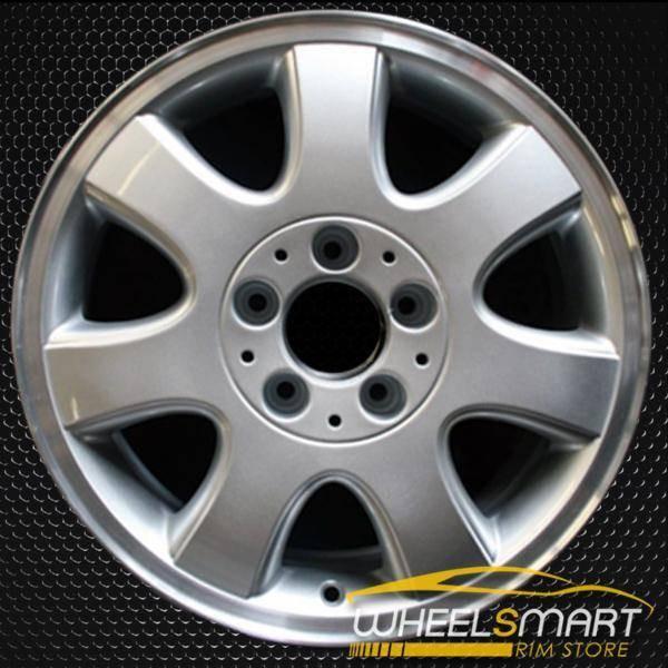 """16"""" Mercedes CLK320 OEM wheel 2001-2003 Silver alloy stock rim ALY65245U10"""