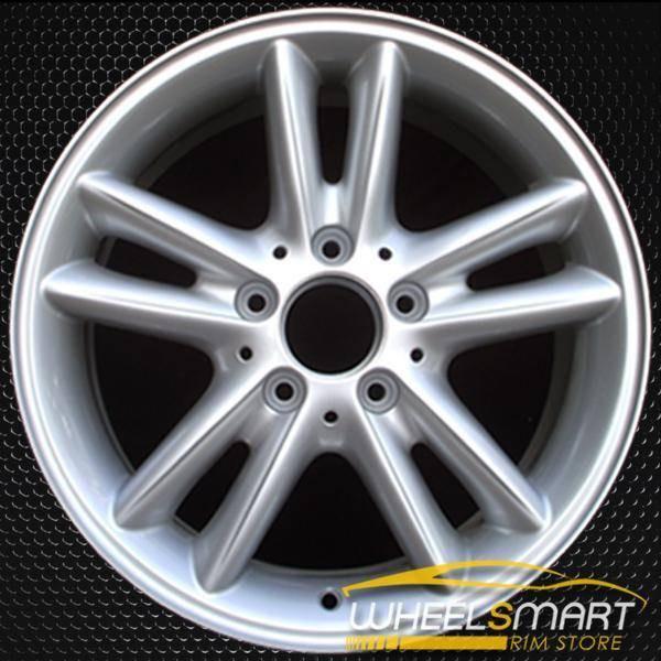"""16"""" Mercedes C230 OEM wheel 2002-2003 Silver alloy stock rim ALY65260U20"""
